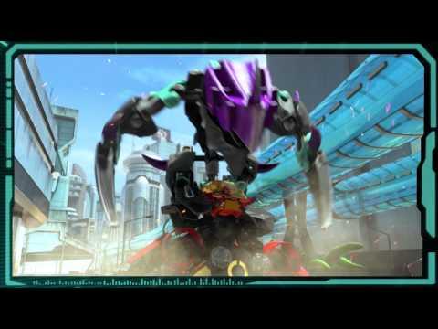 Vidéo LEGO Hero Factory 44016 : Jaw Beast contre Stormer