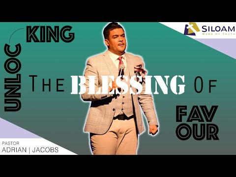 Unlocking The Blessing Of Favour | Pastor Adrian Jacobs