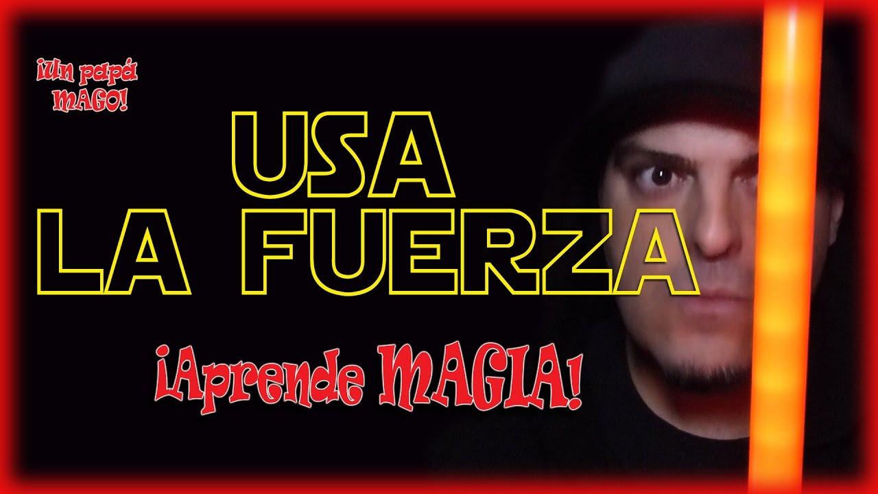 TRUCO DE MAGIA | STAR WARS | USA LA FUERZA | Aprende Magia | isFamilyFriendly