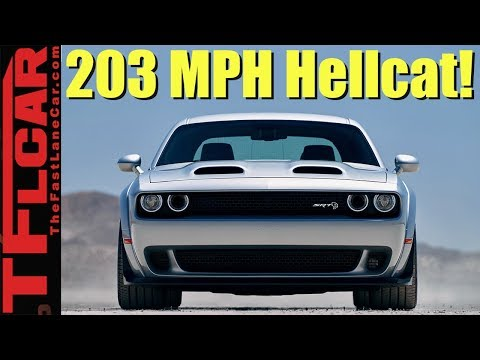 Surprise Reveal! Dodge Introduces 797 HP Challenger SRT Hellcat Redeye