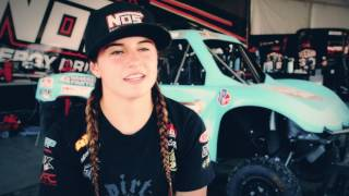 Lucas Oil Off Road Racing Series  Hailie Deegan Interview