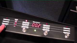 BlackStar Amplifier  FS 10 Foot Switch Demo