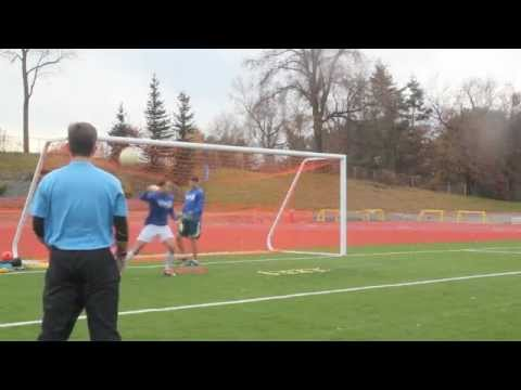 Soccer Goalkeeper Drills for Catching and Footwork