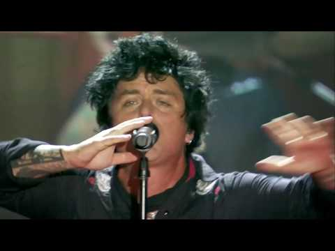 Green Day - Father of all / Basket case (MTV WORLD STAGE)