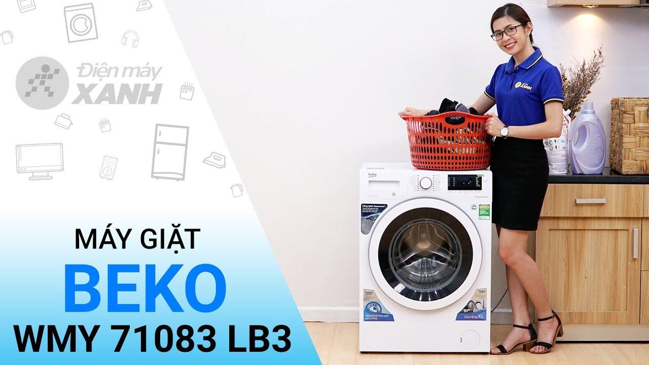 Máy giặt Beko Inverter WMY 71083 LB3 - Chất lượng đỉnh cao từ Beko