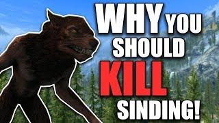 Why You Should Kill Sinding | Hardest Decisions in Skyrim | Elder Scrolls Lore
