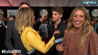 Kelsea Ballerini's Interview Gets Crashed by The Chainsmokers