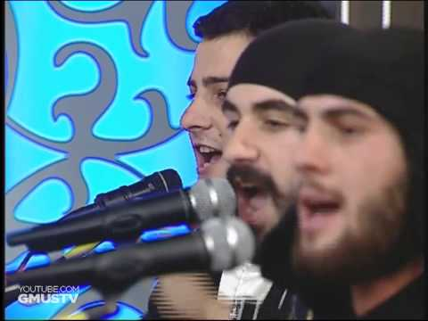 "Грузинская группа ""Бани"" - Кавказская балада ( ингушском стиле)"