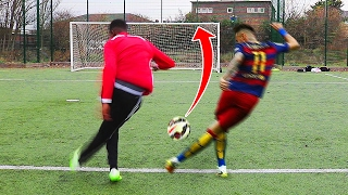 IMPOSSIBLE NEYMAR RABONA FOOTBALL CHALLENGE!! 😱🔥