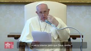 Papa: a oração é diálogo com Deus