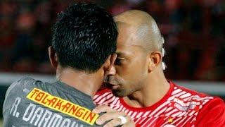 Ini Pernyataan Ivan Carlos Terkait Insiden Semburan Ludah saat Laga Kontra Bali United