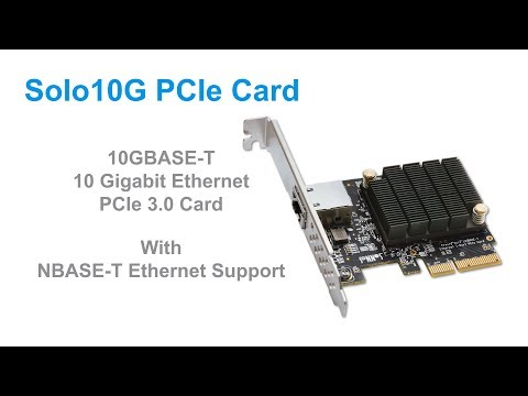 Sonnet Solo 10G PCIe Card Quick Product Overview
