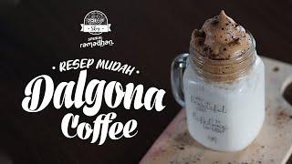 SEDAP SKOY: Resep Mudah Membuat Dalgona Coffee, Hanya Pakai Tangan Tanpa Mixer Dijamin Sukses