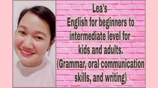 Lea S. presentation