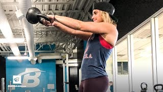 Kettlebell Summer Workout | Cassie Smith by Bodybuilding.com