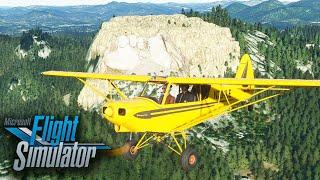 US Update: Mount Rushmore, Crazy Horse & Devil's Tower in Microsoft Flight Simulator 2020