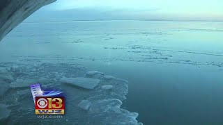 As Chesapeake Freezes, DNR Cutting Ice To Keep Smith Island From Being Stranded