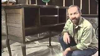 How To Refinish Wood Furniture  How To Restore Old Furniture  DIY Furniture Restoration 3 Of 3