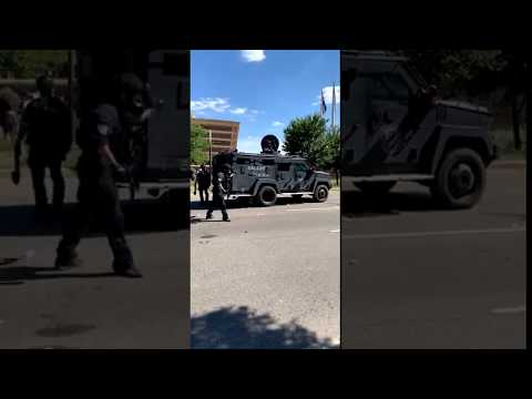 Dallas Police Threw Hand Grenade At Crowd Of Black People