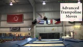 Trampoline Tricks Tutorial - Competitive Gymnastics Trampoline Skills