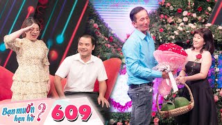 Wanna Date | Ep 609: Quyen Linh is surprised by a girl who likes to meet guys in private places