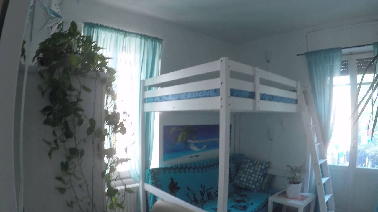 Double Bed in Beautifully furnished bedroom in a stylish apartment in San Giovanni, all utilities included