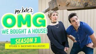 Backyard Bulldozers! | OMG We Bought A House!
