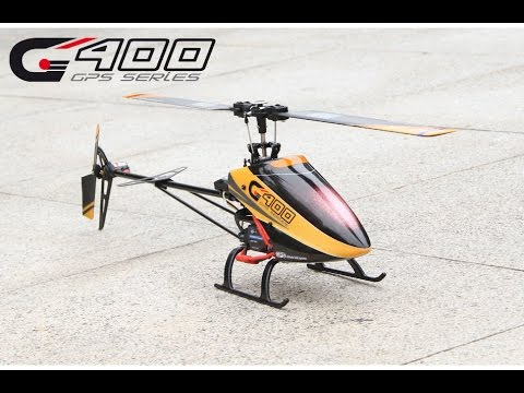 WWW.RTF-HELI.COM - REVIEW WALKERA G400 G.P.S. 6-AXIS FLYBARLESS CP R/C HELICOPTER