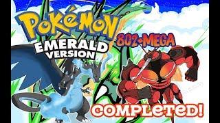 Pokemon Emerald 802+Mega V3.0 Completed - Gameplay + Download