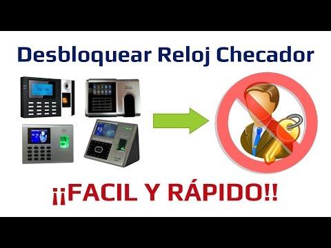 Reloj Checador y Software [Parte 3] - Remover Privilegio Administrador - Desbloquear Reloj Checador