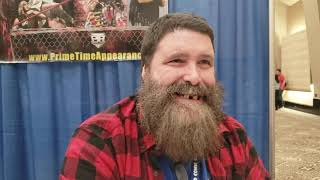 Exclusive interview with Mick Foley
