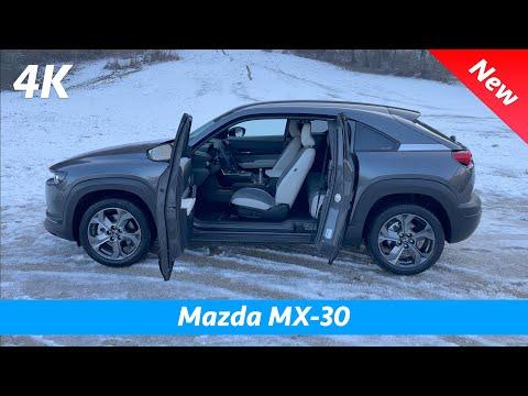 Mazda MX-30 2021- FULL in-depth review in 4K | Exterior - Interior (Day & Night) Infotainment