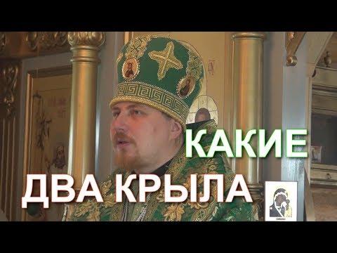 О двух крылах! Проповедь епископа Тарасия, в день памяти преподобному́ченика Симона Воломского