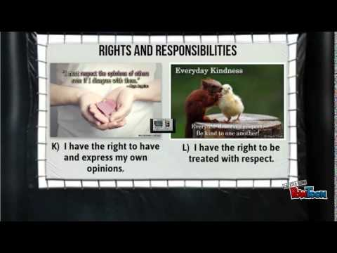 Healthy Relationships- Rights & Responsibilities by Russell Hand