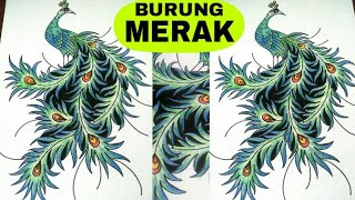 Cara Menggambar Mofit Batik Sekar Jagad ฟร ว ด โอออนไลน ด ท ว