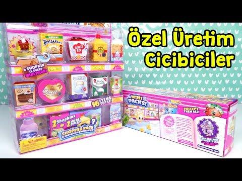 Luna Rahat Vermiyor! En Yeni Cicibiciler Özel Üretim Mini Alışveriş Paketleri