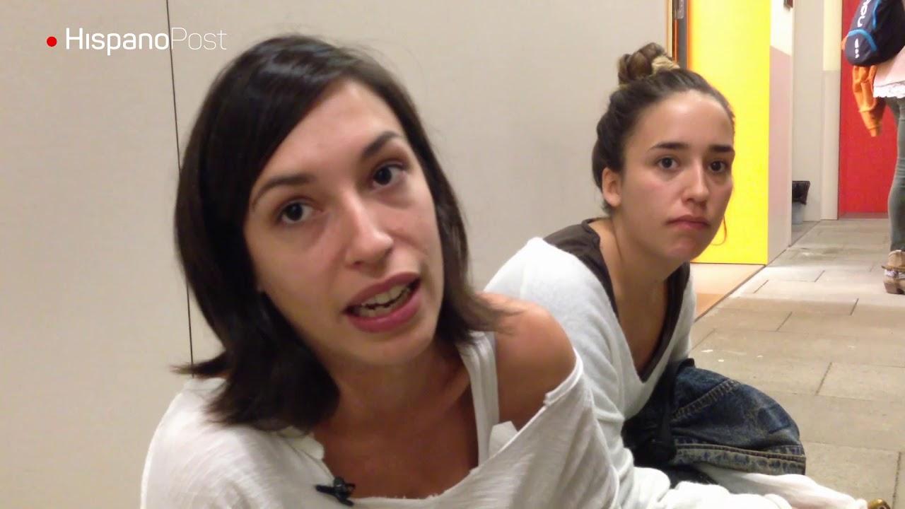 Se encierran en escuelas de Cataluña para defender derecho a elegir