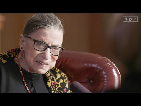 """""""Do You Have Any Regrets?"""" Justice Ruth Bader Ginsburg Answers in 2019   NPR"""