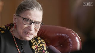 """""""Do You Have Any Regrets?"""" Justice Ruth Bader Ginsburg Answers in 2019 