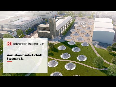 Animation Baufortschritt | Stuttgart 21