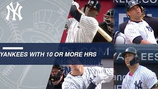Stanton, Judge, Gary and Didi on historic pace - Video Youtube