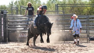 The Winnebago Ranch Bull Ride ft. Outlaw & Dale Brisby