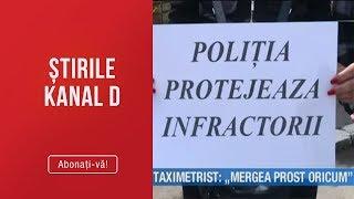 """Stirile Kanal D (20.05.2019) - UBER VS TAXI! Taximetrist: """"Mergea Prost Oricum!""""   Editia De Seara"""