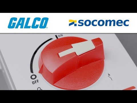Socomec's Enclosed Sirco M Series Disconnect Switch