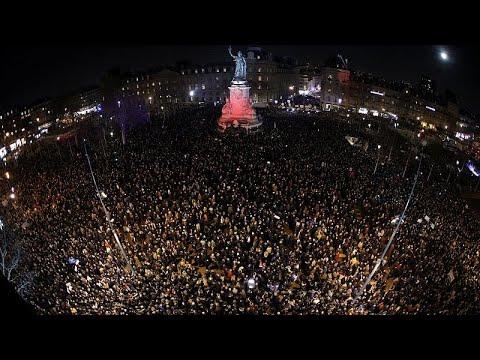 Πορείες κατά του αντισημιτισμού στην Γαλλία