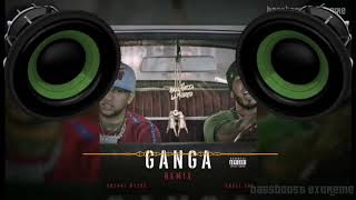 Gan Ga (Remix) |Bass Boosted   Bryant Myers & Anuel AA
