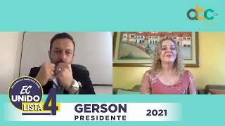 MEDIOS | Entrevista a nuestro candidato presidencial Gerson Almeida en ABC TV.
