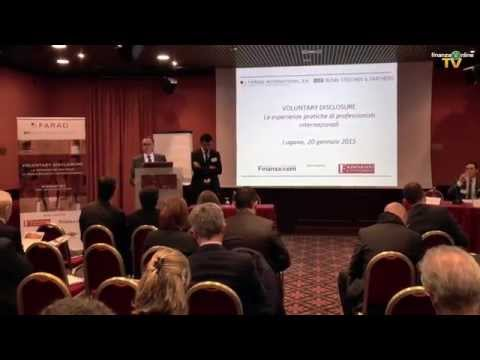 Evento Farad - le ultime novità sulla voluntary disclosure