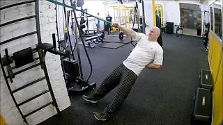 Подтягивания одной рукой (наклонные) / Функциональный бодибилдинг