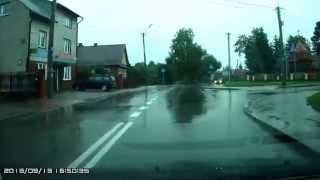 preview picture of video 'PROSTOWANIE ZAKRĘTU Bielsk Podlaski 2013-09-13 CW'